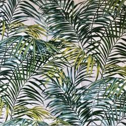 1949813 PALM SPRINGS vert (toile de lin)